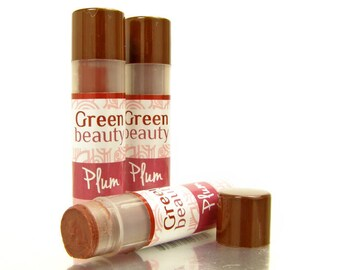 Lip Tint, Plum, natural lip balm, tinted lip balm, sheer lip color, natural makeup, mineral makeup, tinted balm, sheer lip tint, YLBB