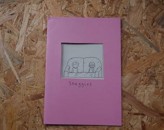 Snuggles - a comic by Mama Lips