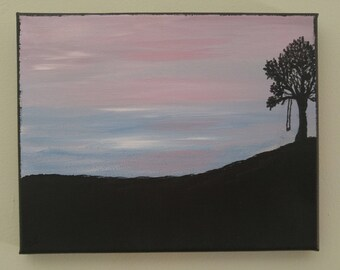 Big Sky with Tree