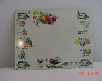 Vintage Kitchen Recipe Board  17 - 1108