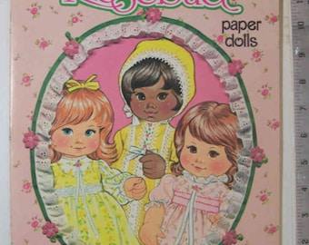 On Clearance - Vintage Darling Rosebud Paper Dolls Whitman # 1982-1 1978