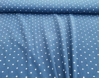 Muslin little stars jeans blue