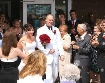 125 Wedding Bubble Favors, Personalized, Wedding Bubbles