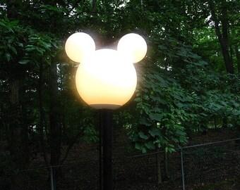 Disney Mickey Lamp Post