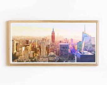 New York Wall Print - New York Cityscape - New York Photography - New Yorker - New York City Poster - New York Wall Art - New York Skyline