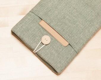 kindle sleeve / Kindle paperwhite case,  kobo glo HD case /  Nook GlowLight case / Kobo Aura case / ereader case  - Oregano -