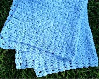Crochet pattern baby blanket, crochet afghan pattern, baby blanket crochet pattern, simple crochet baby blanket, crochet blanket border