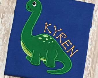 Dinosaur Applique Shirt
