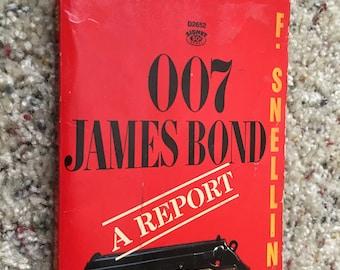Vintage 007 James Bond A Report Book