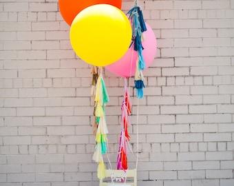 Balloon Tassels (Set of 6): Blush