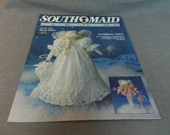 """Crochet Pattern, Tooth Fairy or Angel Doll, 12"""" Tall, Fairy Tales, Fables and Fantasy No 1, South Maid Book 2416, 1991"""