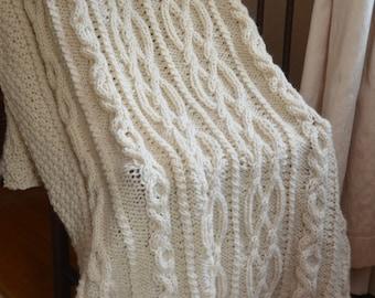 Wedded Bliss Irish Throw Blanket