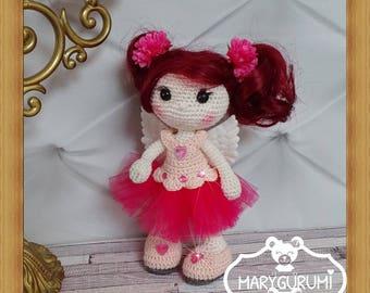 Fairy doll, crochet, Amigurumi