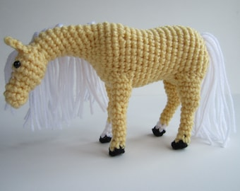 PDF Crochet Horse Pattern - Crochet Animal Amigurumi