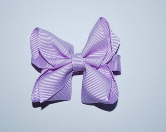 Lilac Boutique Bow No Slip Hair Clip - Buy 3 Items, Get 1 Free