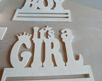 """1/4"""" Baltic Birch Plywood It's a girl"""