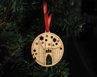 St Johns Bridge Ornament - Small