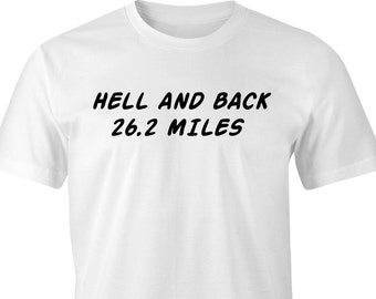 Marathon Runners T-shirt with funny logo