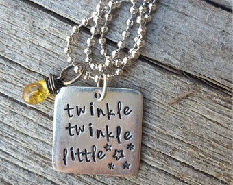 Twinkle twinkle little star Necklace