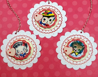 Cute Valentine Gift Tags
