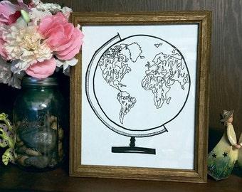 Inspirational Globe