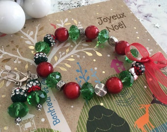 set of Christmas red green tradition