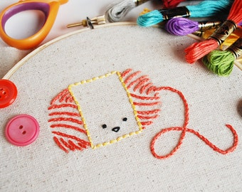 Crafty Characters - Digital Hand Embroidery Pattern