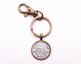 Speak Up Keychain