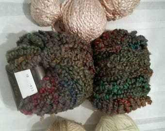 Destash Yarn in Various textures