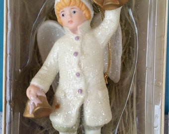 Costco Porcelain Victoria Angel Ornament