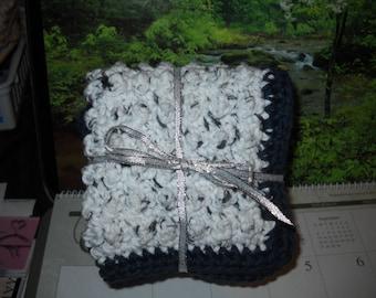 DC-014  3-Pack Crochet Dishcloths