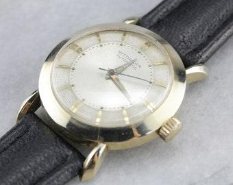Men's 1960s Wrist Watch, Vintage Wittnauer Watch, Men's Gold Watch, Men's Gift, Watch Collector Q9DR3QV1