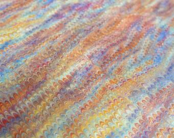 Paper marbling 48 x 68 cm inkjet shore tradition 120 grams - 5