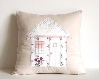 Cottage Decor Pillow Cover