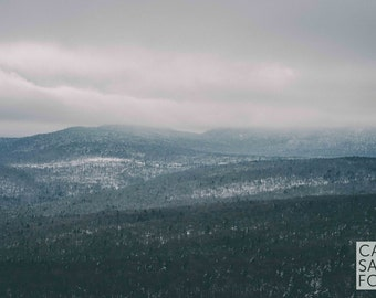 Moody New Hampshire Mountains -- Landscape Photography