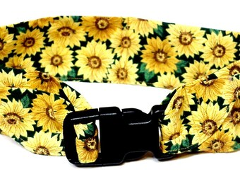 Gel Cooling Collar, Fabric Dog Neck Cooler Bandana, Collar Buckle Adjustable Sz Medium 14 - 18 inch Sunflowers, Fire, Animal Print iycbrand