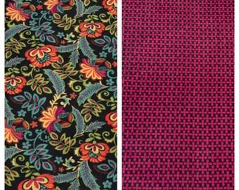 Fleece Adult Floral Blanket(A173)