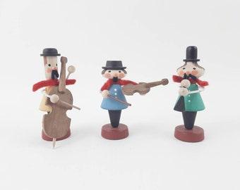 Vintage Erzgebirge Musicians Figurines