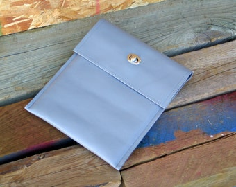 Leather iPad Sleeve, iPad Case, iPad Envelope, iPad Cover Ready to Ship