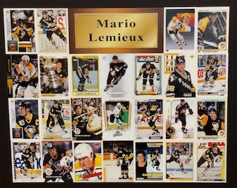 Two Pittsburgh Penguins Sport Card Posters