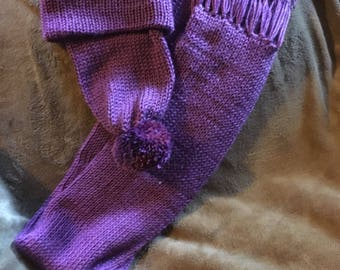 Slouch hat and scarf set