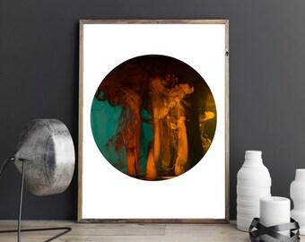 Circle Print , Minimalist , Abstract Print , Modern , Digital Art, Photography , Macro , Art Print , Gift For Her , INK,, UK Art, Home deco