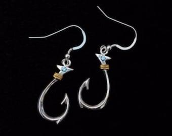 Hook Dangle Earrings (Medium)