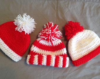 Where's Waldo Inspired baby Crochet Hat