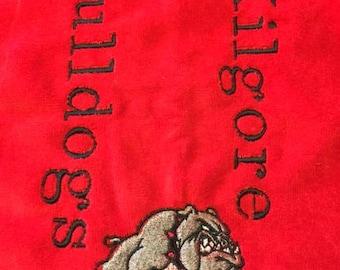 Kilgore Bulldogs Sports Towel