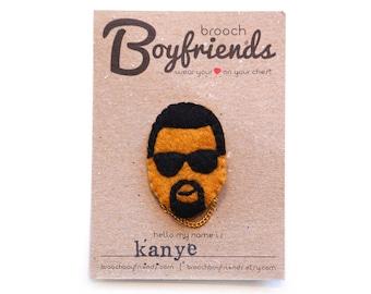 Kanye West Brooch