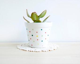 Ceramic planter, Ceramic plant pot, Succulent planter, Ceramics & pottery, Outdoor flower pots,  Pot small succulents, Small ceramic pots