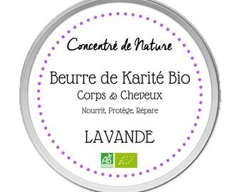 Organic Lavender Shea butter