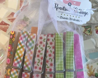 14 Colorful Clothes pins