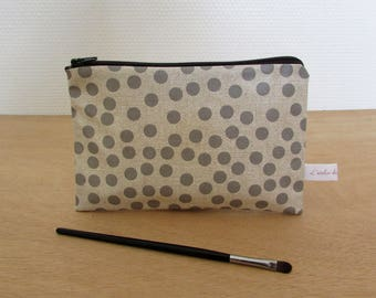 LILY oilcloth pouch